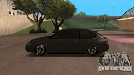 Лада Приора Купе для GTA San Andreas вид слева