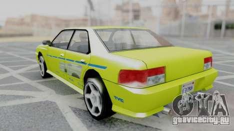 Sultan 2F2F Evo PJ для GTA San Andreas вид слева
