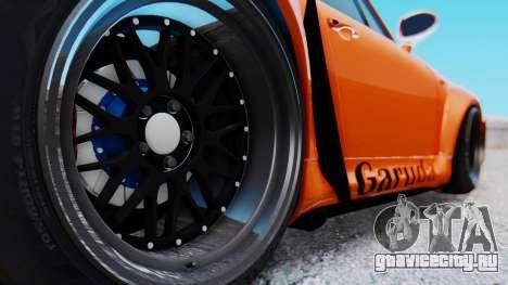 Porsche 993 GT2 RWB GARUDA для GTA San Andreas вид сзади
