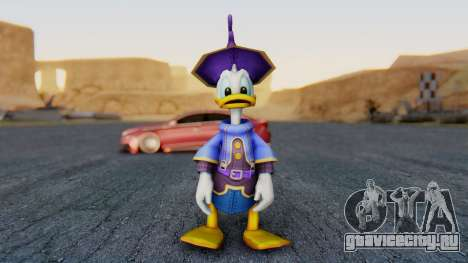 Kingdom Hearts 1 Donald Duck Disney Castle для GTA San Andreas второй скриншот
