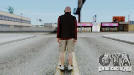 Hunter Costume Michael для GTA San Andreas третий скриншот