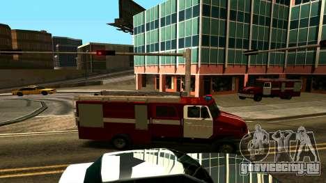 ЗИЛ-5301 для GTA San Andreas вид сзади