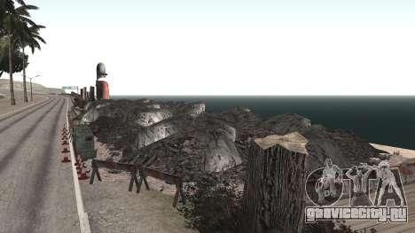 Ремонт дороги Los Santos - Las Venturas для GTA San Andreas четвёртый скриншот