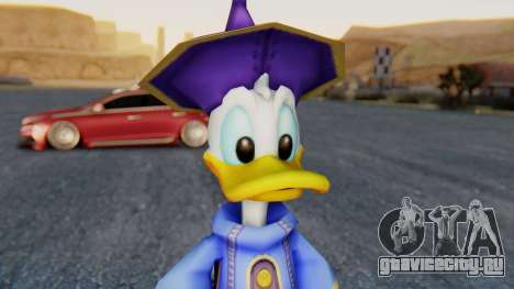 Kingdom Hearts 1 Donald Duck Disney Castle для GTA San Andreas