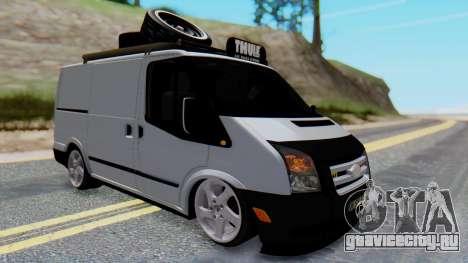 Ford Transit 2007 Model AirTran для GTA San Andreas вид справа