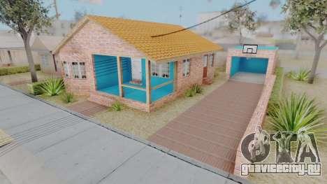 New Big Smoke House для GTA San Andreas