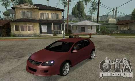 VW Golf R32 для GTA San Andreas