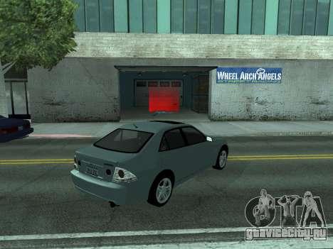 Toyota Altezza Tunable для GTA San Andreas вид слева