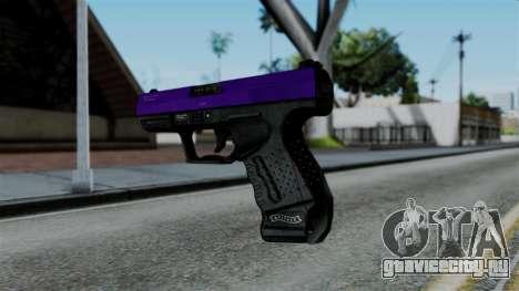 Purple Desert Eagle для GTA San Andreas второй скриншот