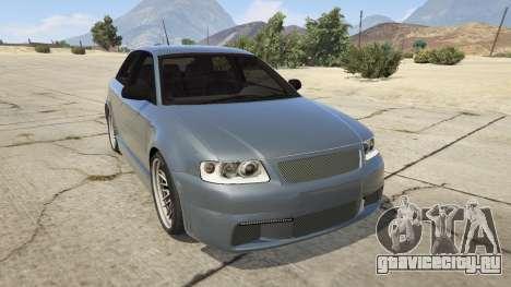 Audi A3 1999 Sport Edition для GTA 5