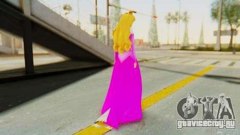 Sleep Beauty Aurora Pink для GTA San Andreas третий скриншот