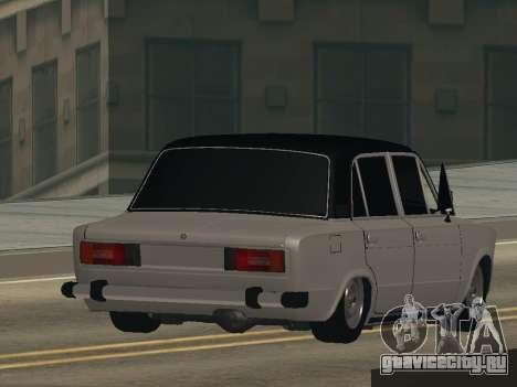 ВАЗ 2106 BUNKER для GTA San Andreas вид слева