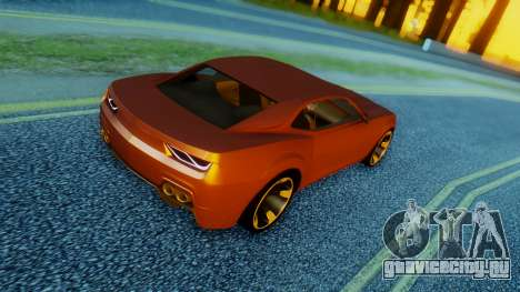 Chevrolet Camaro DOSH Tuning v2 для GTA San Andreas вид слева