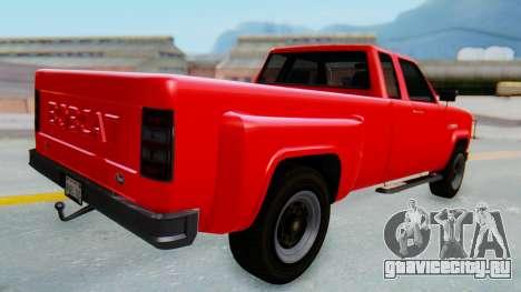 GTA 5 Vapid Bobcat XL для GTA San Andreas вид слева