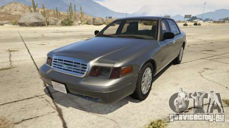 Ford Crown Victoria Detective для GTA 5