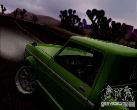 Sadler Debbie для GTA San Andreas вид снизу