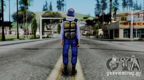 Barney Calhoun from Half Life Blue Shift для GTA San Andreas третий скриншот