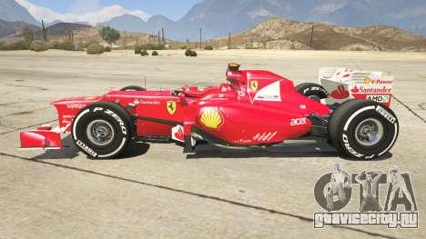 Ferrari F1 для GTA 5 вид слева