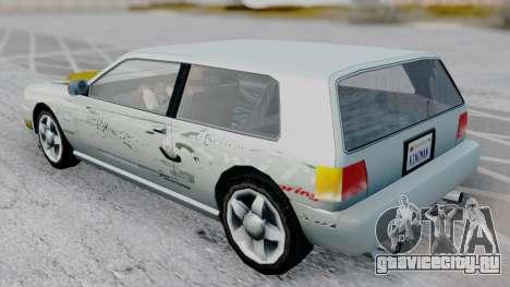 Flash F&F3 Silvia PJ для GTA San Andreas вид сзади слева