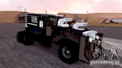 Mad Max The War Rig Bilge Tuning для GTA San Andreas вид сзади слева