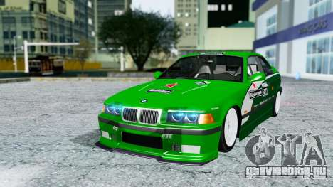 BMW M3 Coupe E36 (320i) 1997 для GTA San Andreas салон