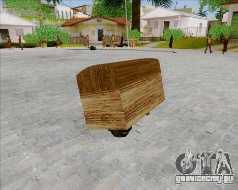 Faggio Sunduk для GTA San Andreas вид слева