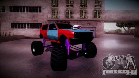 Club Monster Truck для GTA San Andreas вид сверху