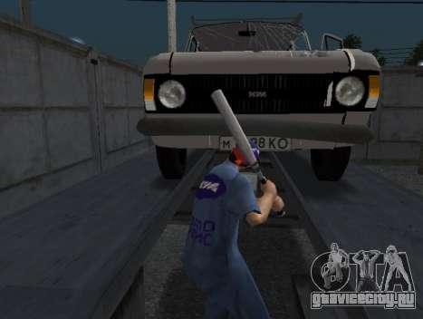 Скин работника ИЖ Автосервис для GTA San Andreas третий скриншот