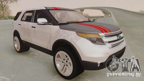 Ford Explorer для GTA San Andreas вид сбоку