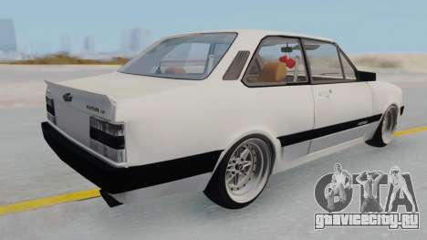 Chevrolet Chevette Stance для GTA San Andreas вид сзади слева