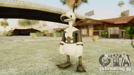 Kingdom Hearts 2 Donald Duck Timeless River v2 для GTA San Andreas второй скриншот