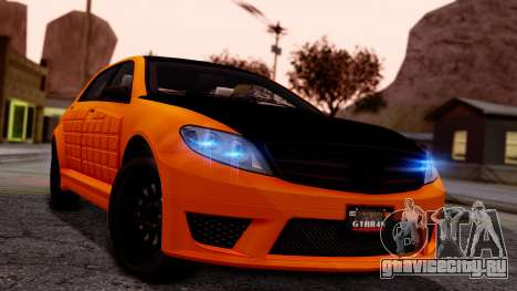 GTA 5 Benefactor Schafter LWB Armored для GTA San Andreas