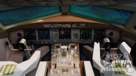 Boeing 777-200LR Delta Air Lines для GTA San Andreas вид справа