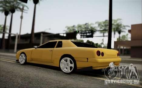 Elegy Speedhunters для GTA San Andreas вид сзади