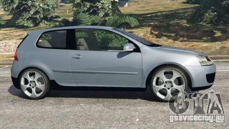 Volkswagen Golf Mk5 GTI 2006 v1.0 для GTA 5 вид слева