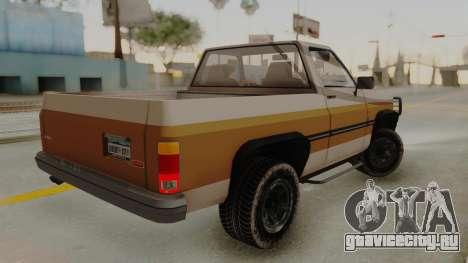 GTA 4 Declasse Rancher IVF для GTA San Andreas вид слева