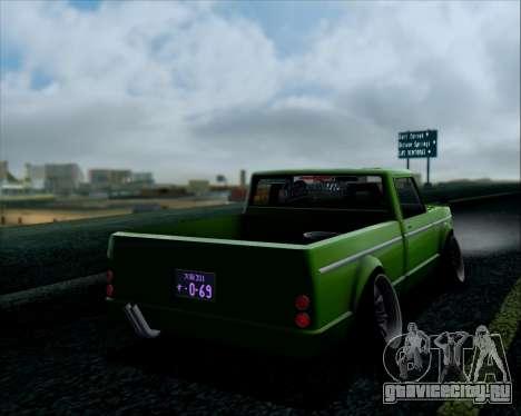 Sadler Debbie для GTA San Andreas вид сзади слева