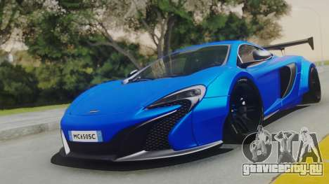 McLaren 650S Coupe Liberty Walk для GTA San Andreas