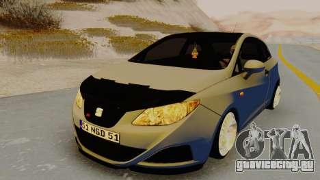 Seat Ibiza для GTA San Andreas вид справа