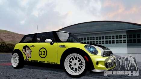 Mini John Cooper Works Mr.Bean для GTA San Andreas