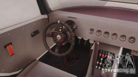 GTA 5 Bravado Banshee 900R Carbon для GTA San Andreas вид сзади