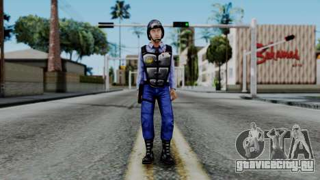 Barney Calhoun from Half Life Blue Shift для GTA San Andreas второй скриншот
