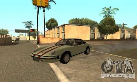 Porsche 911 Targa 1974 для GTA San Andreas