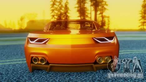 Chevrolet Camaro DOSH Tuning v2 для GTA San Andreas вид справа