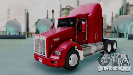 Kenworth T800 38s Austero Flat Top для GTA San Andreas
