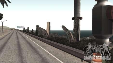 Ремонт дороги Los Santos - Las Venturas для GTA San Andreas восьмой скриншот