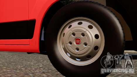 Fiat Ducato SMURD для GTA San Andreas вид справа