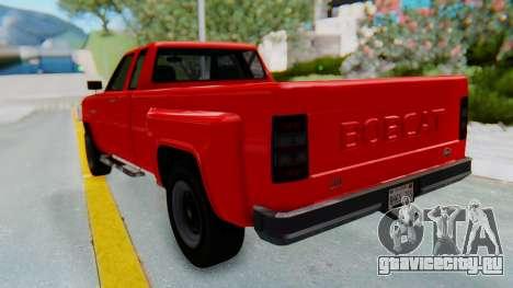 GTA 5 Vapid Bobcat XL для GTA San Andreas вид сзади слева