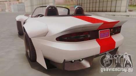 GTA 5 Bravado Banshee 900R IVF для GTA San Andreas вид слева