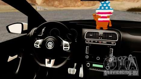 Volkswagen Polo GTI для GTA San Andreas вид справа
